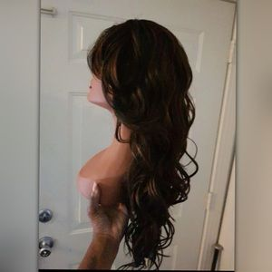 Layered Wig with Bangs